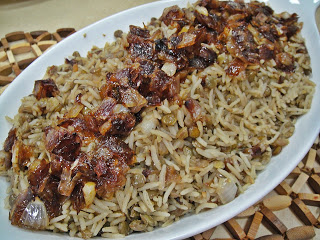 how to cook iraqi quzi rice