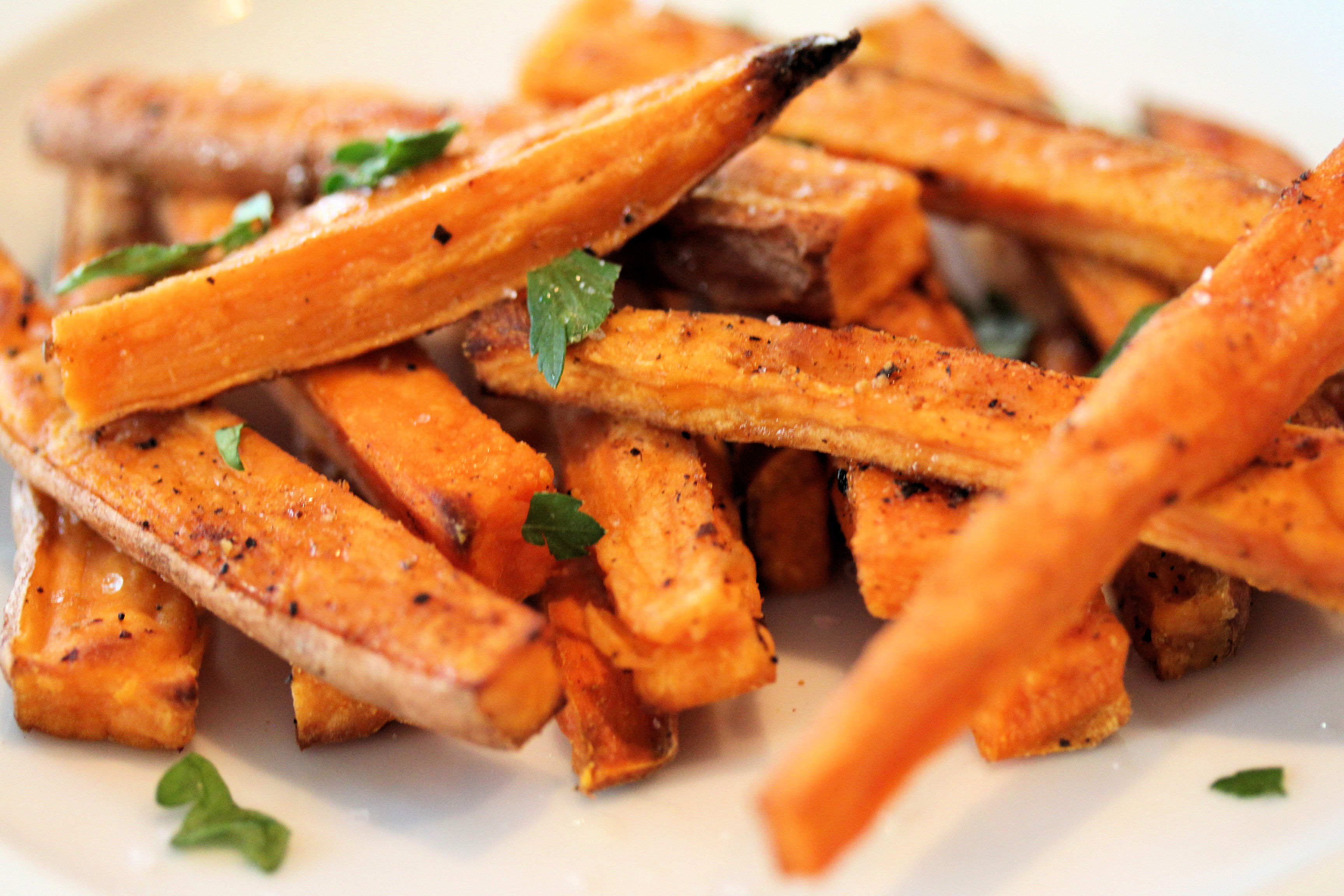 Baked Sweet Potato Fries - Health Begins With Mom