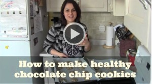 how to make healthy chocolate chip cookies