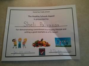 sheli's award