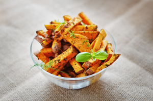 cooked sweet potato is a great food for a strong immune system