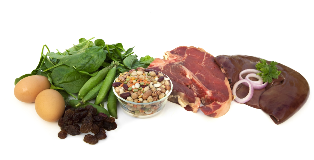 foods containing iron are great for a strong immune system