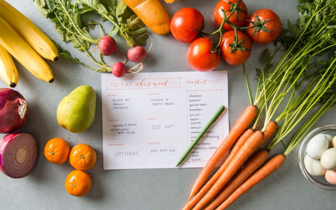 5 Steps to an Easy & Sustainable Meal Planning Process